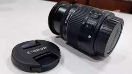 Lente 18 55m f/4-5.6 IS STM estabilizador óptico
