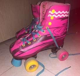 Se venden patines de soy luna perfecto estado