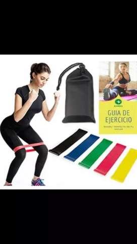 Kit de bandas elasticas - Incluye domicilio en bucaramanga