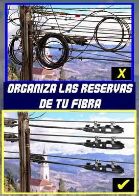 RAQUETAS PARA CABLES DE RESERVA ( LOTE COMPLETO )