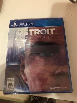 Detroit become humane ps4 en caja sellada