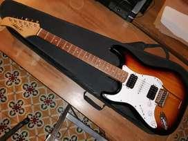 Guitarra eléctrica zurda