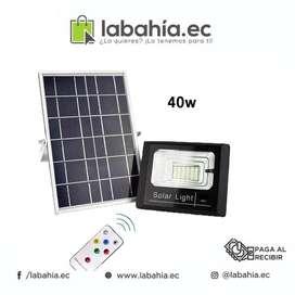 Reflector LED 40W con bateria  Panel Solar