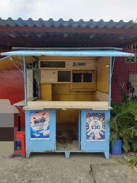 Kiosco metálico para negocio