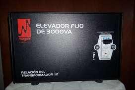 Elevador de voltaje 3000 VA (marca magom)
