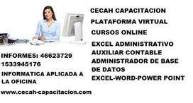 Curso de Excel Administrativo Contable