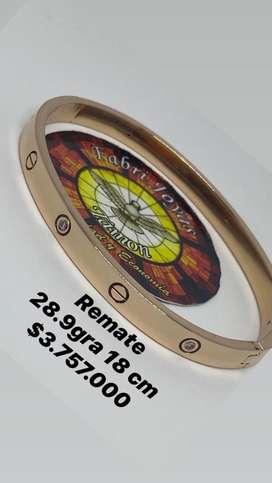 Se vende oro de 18 kilates grrozqdo se fabrica el diseño qie guste dieños 3D
