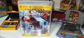 Uncharted 2 ORIGINAL para Playstation 3