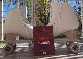 Vendo patines de competición EDEA Ritmo, poco uso