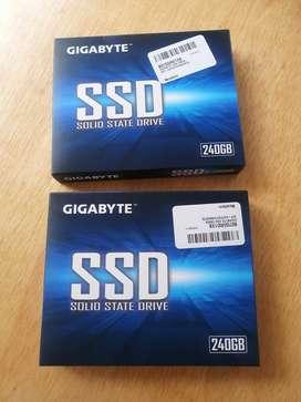 Ssd disco estado solido Gigabyte 240gb