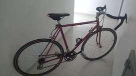 Bicicleta de carreras clásica