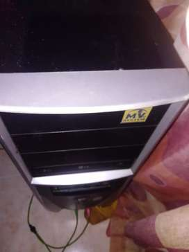 CPU INTEL CORE 2 DUO WINDOWS7 2 GB DE RAM RECIEN FORMATEADA