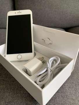 Iphone 8 blanco usado como nuevo