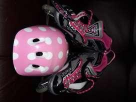 Hermosos patines para tu princesa