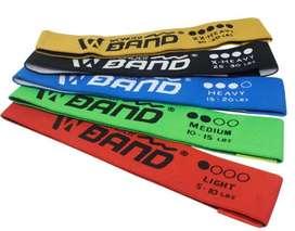 Set bandas elasticas latex