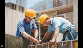 Me ofrezco como ayudante de construcción