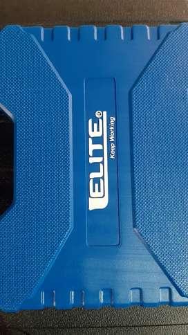 Atornillador inalámbrico de ion de litio 4.8 v + 27 accesorios 2 años de garantía