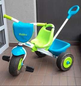 Triciclo Kiddi-o. Excelente estado