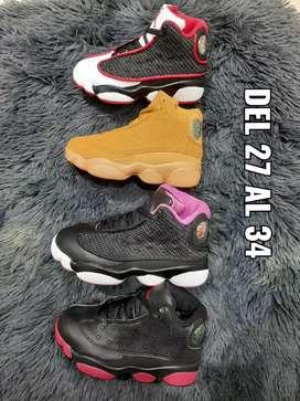 Tenis Nike Jordan niños