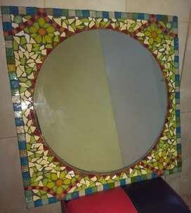 Espejos. Mesas. Juegos de jardín. Mosaiqueados
