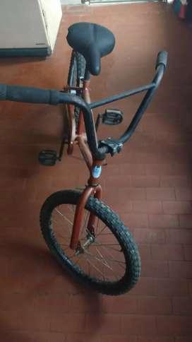 Bicicleta rodado 20 a contra pedal