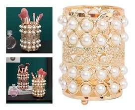 Organizador  de soporte de brochas  de perlas