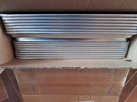 Bandeja de aluminio de 65x45x2.5cm