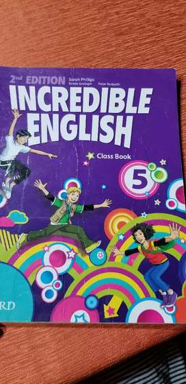 Incredible English 5. Class book.