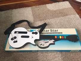 Negociable guitarra para Wii como nueva