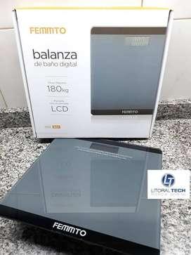 Balanza Personal FEMMTO. Digital. 180 kg