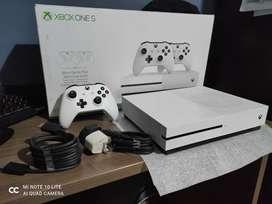 Xbox one S usada en promoción