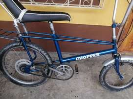 Vendo bicicleta clásica Chopper