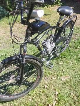 vendo bicimoto 50cc reforzada (100kg) impecable