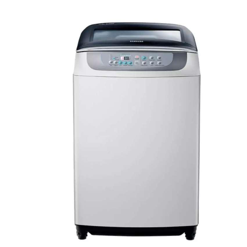 Se vende lavadora Samsung 29 libras gris 0