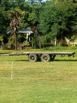 Vendo Carro Balancín de 7 mts de largo