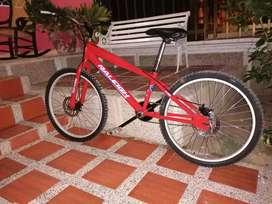 Vendo bicicleta turismo rin 24