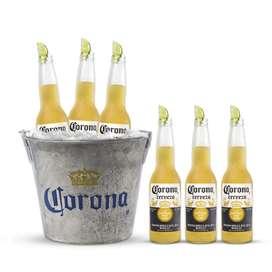 Six Corona + Hielera