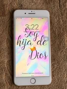 Iphone 8 plus rosado