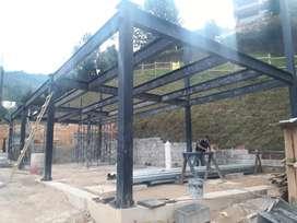 Pérgolas, deck estructuras metalicas