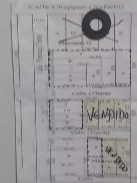 ULTIMO TERRENO DE10X27 REMATO