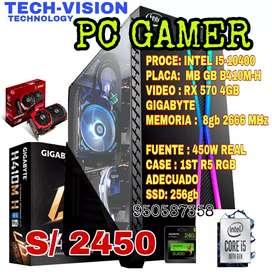 PC GAMER CORE I5 10CIMA GENERACION