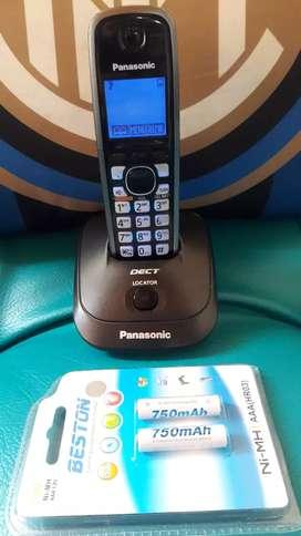 Panasonic pantalla azul con identif. Y altavoz