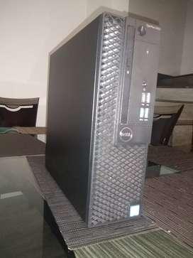 Torre Dell Corporativa Core i7 7700 de Séptima, 4gb Ddr4, 500 d.d.
