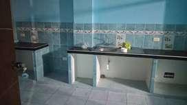 Se alkila departamento en 2do piso a 550 soles 3 cuartos sala cocina