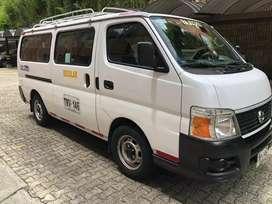 Vendo microbus nissan