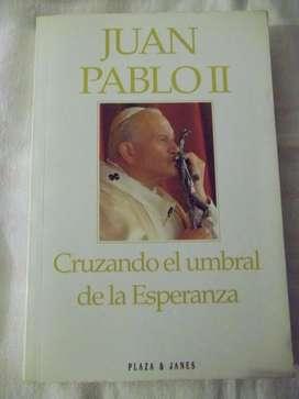 Libro Juan Pablo II . Cruzando el umbral de la Esperanza.