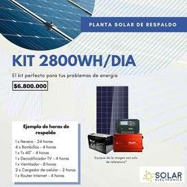 Planta Solar Todo en Uno pregunta por el tuyo