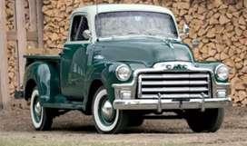 Antigua camioneta GMC 1959
