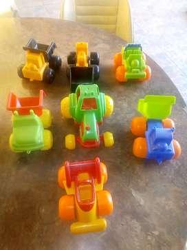 Vendo autos de juguetes