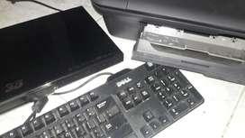 Impresora Hp Teclado Dell Dvd Blu Ray 3d